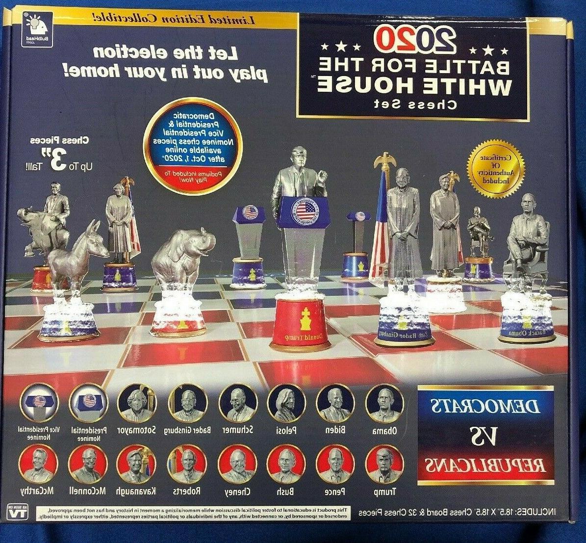 2020 Battle For White Chess