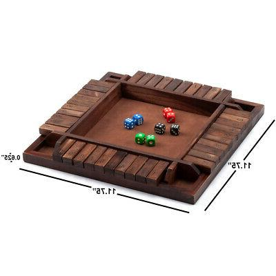 4-Players Board w/Dice. Drinking Games