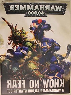 "Games Workshop 60010199017"" Warhammer 40000 Know No Fear Eng"