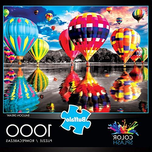 Buffalo Games Splash - Balloon Dream 1000 Jigsaw Puzzle