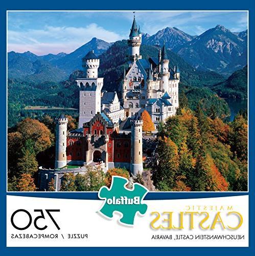 Buffalo Castles - Bavaria - 750 Jigsaw Puzzle