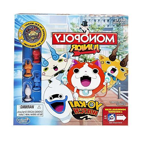 Hasbro B6494 Monopoly Junior: Yo-kai Watch Edition