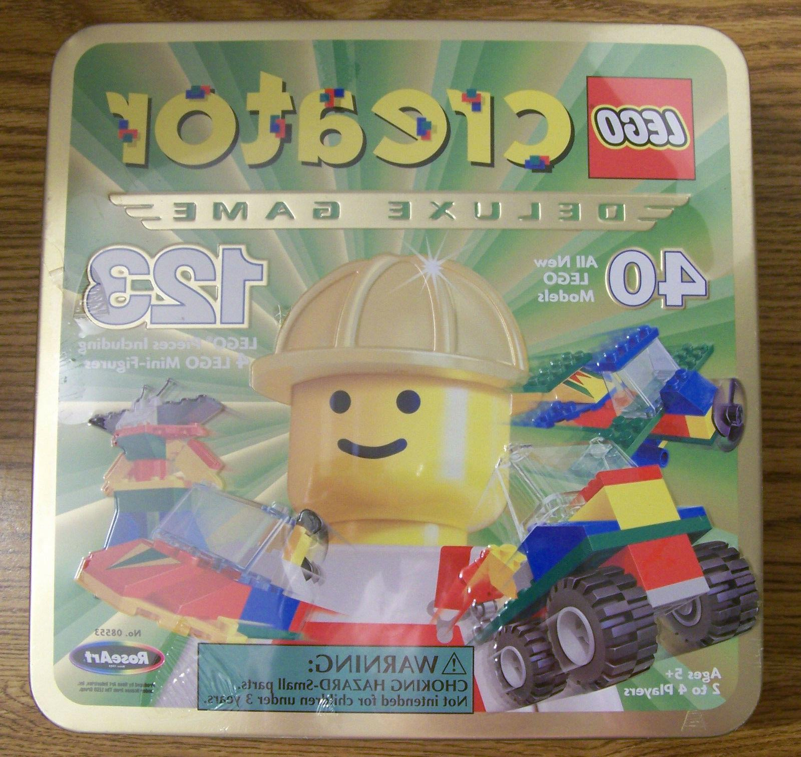 LEGO CREATOR DELUXE GAME The Race to Build it Board Game RAR
