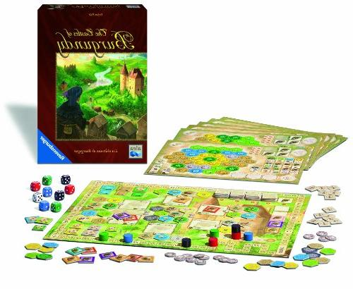 Ravensburger Castles of Burgundy Board Fun Strategy Easy and Play Great Value