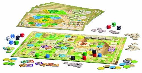 Ravensburger Castles of Burgundy Board Game Fun Easy to and Value