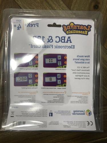 Learning Resources ABC 123 Electronic Game 4 4+.