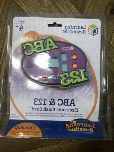 abc 123 electronic flash card game 4