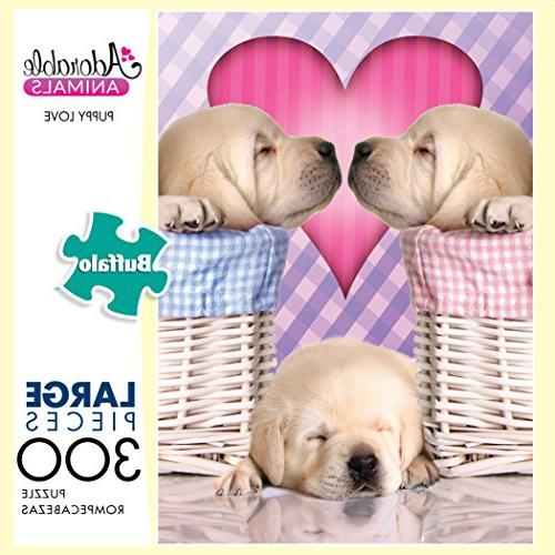 Buffalo Adorable Animals: Puppy Love Puzzle