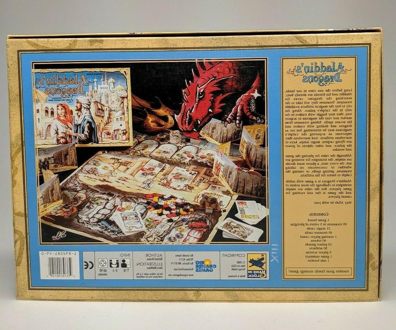 Aladdin's Board Rio Grande 2000 Box COMPLETE NEW