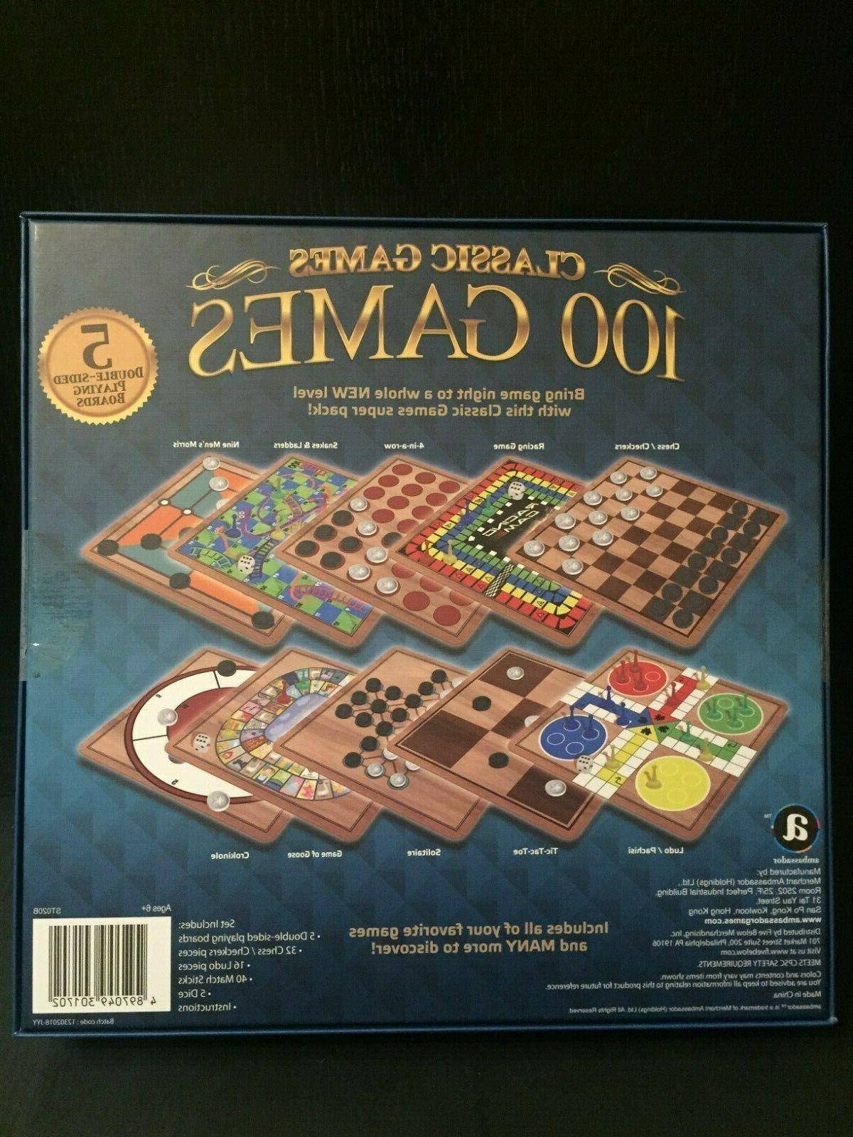 Ambassador Board Classic Games 100 Brand New