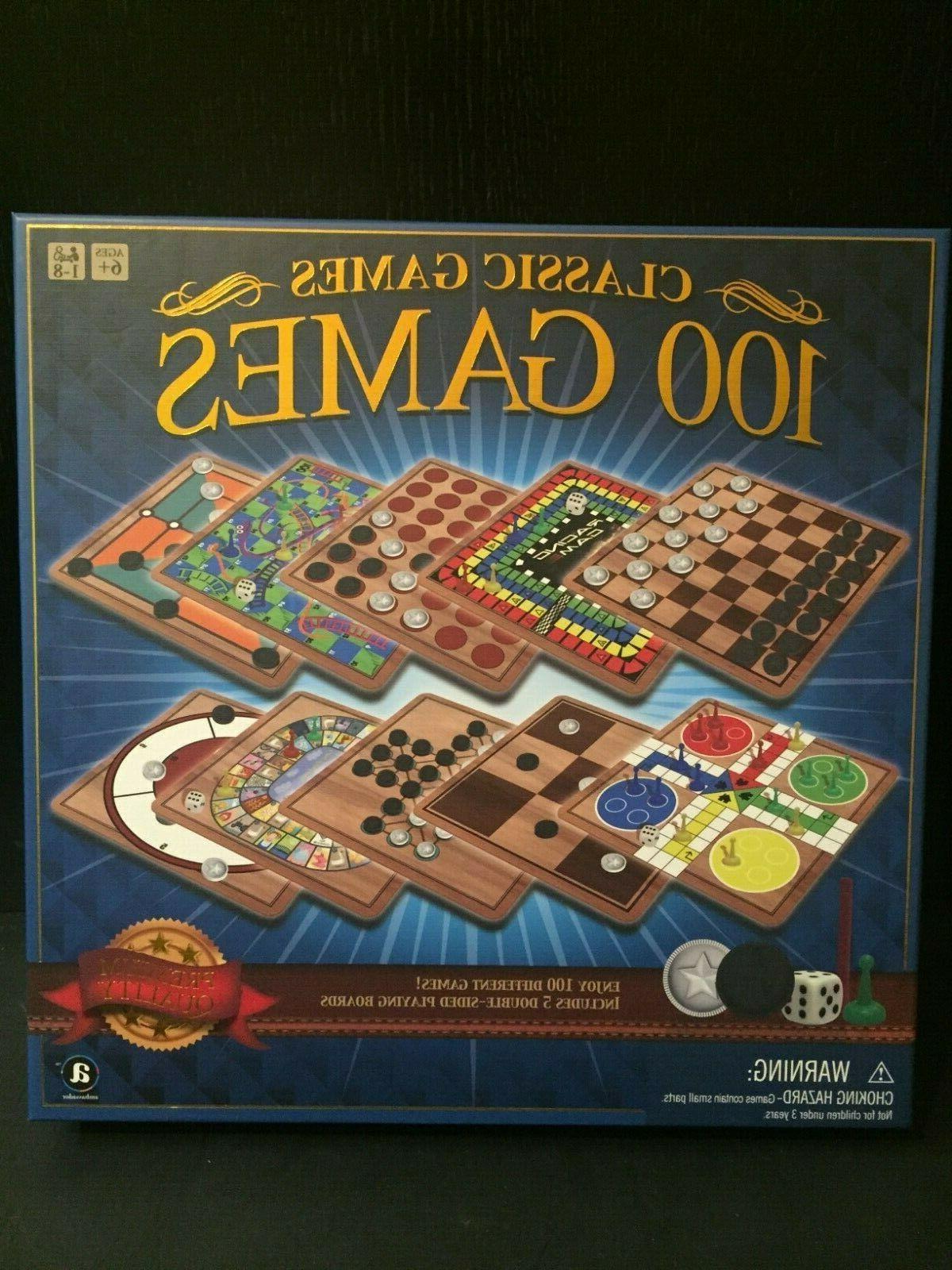 ambassador board games classic games 100 games