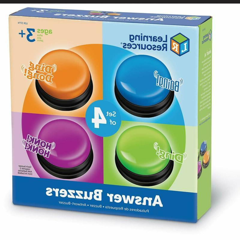 Learning Answer Set Show Buzzer Toys New