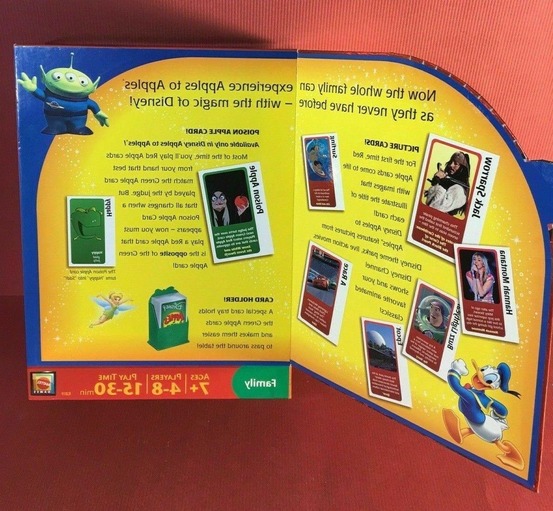 DISNEY APPLES Family Game~New Box