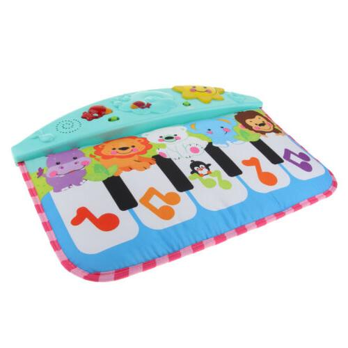 Baby Piano Music Game Blanket Animal Keyboard Touch Play Gym