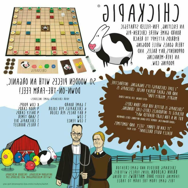Buffalo Games Chickapig Game Board Game Where Hy