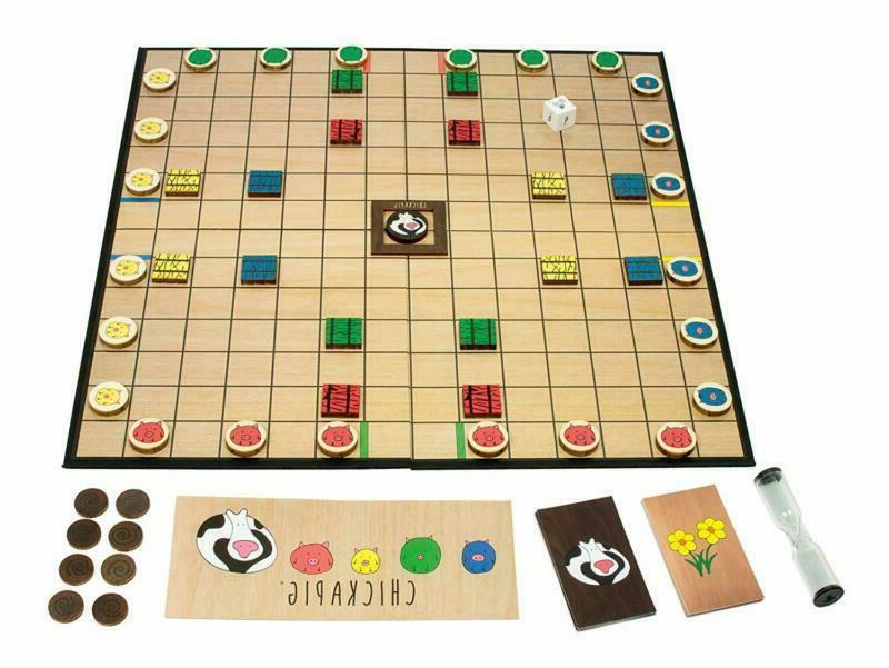 Buffalo Chickapig Board Game A Board Chicken-Pig Hy