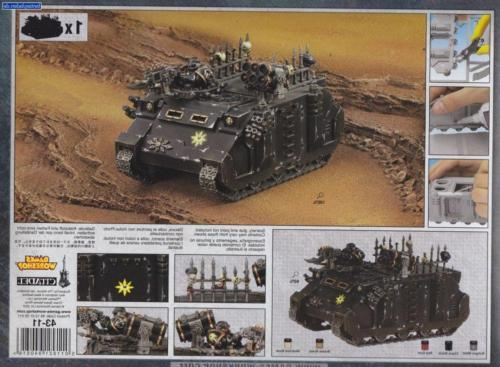 Games Workshop Chaos Space Marines: Chaos Rhino 2014