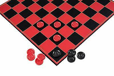 Point Games Checkers Game with Super Durable - Indoor/Outdoor