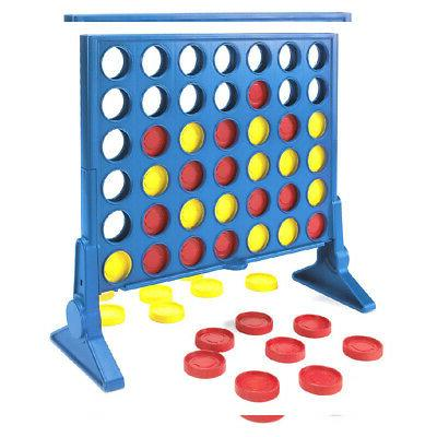 Connect Four Classic Family Fun Paced Board Game Children Toys