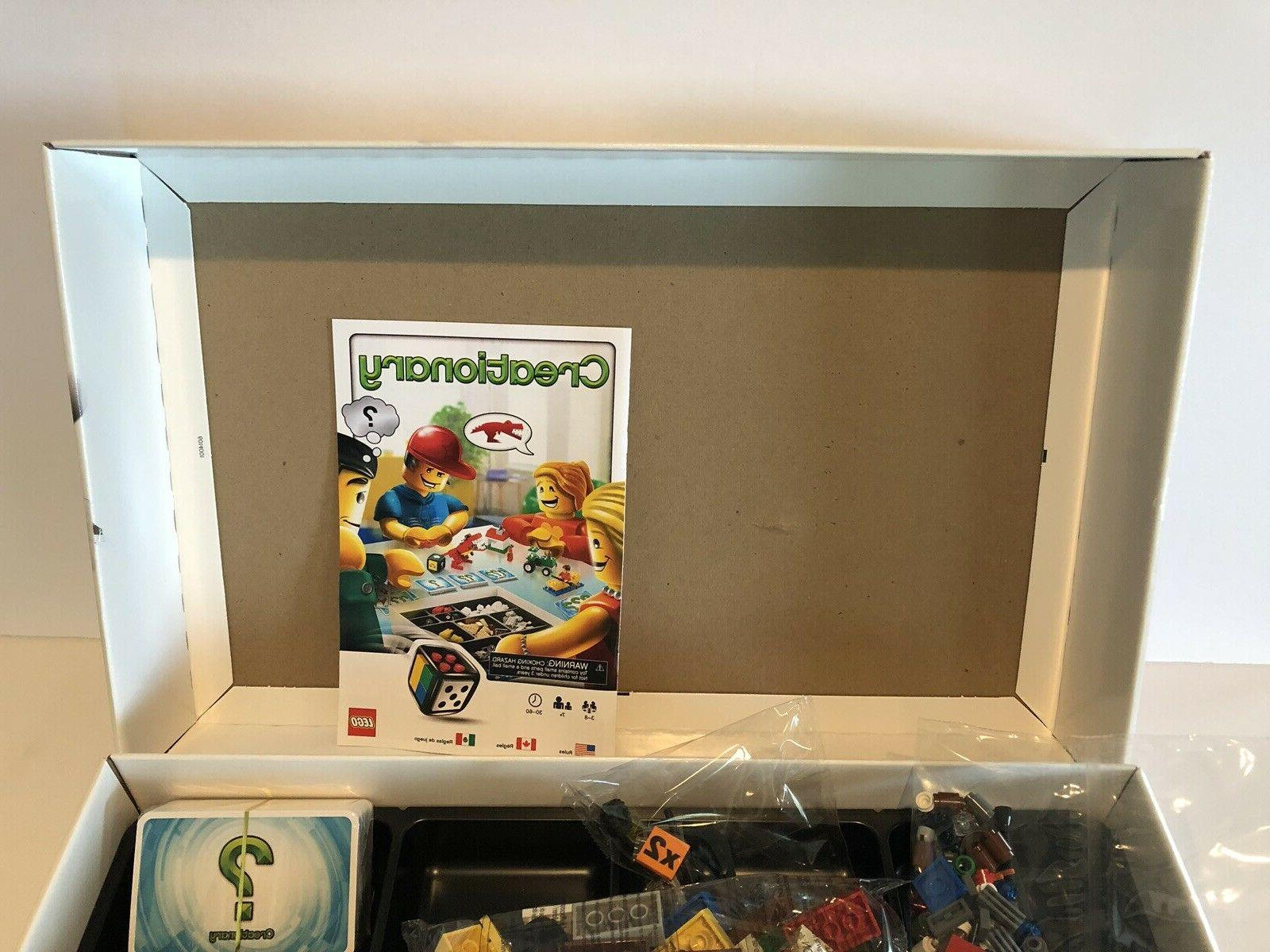LEGO Creationary Board Game 3844 Open Sealed Bags