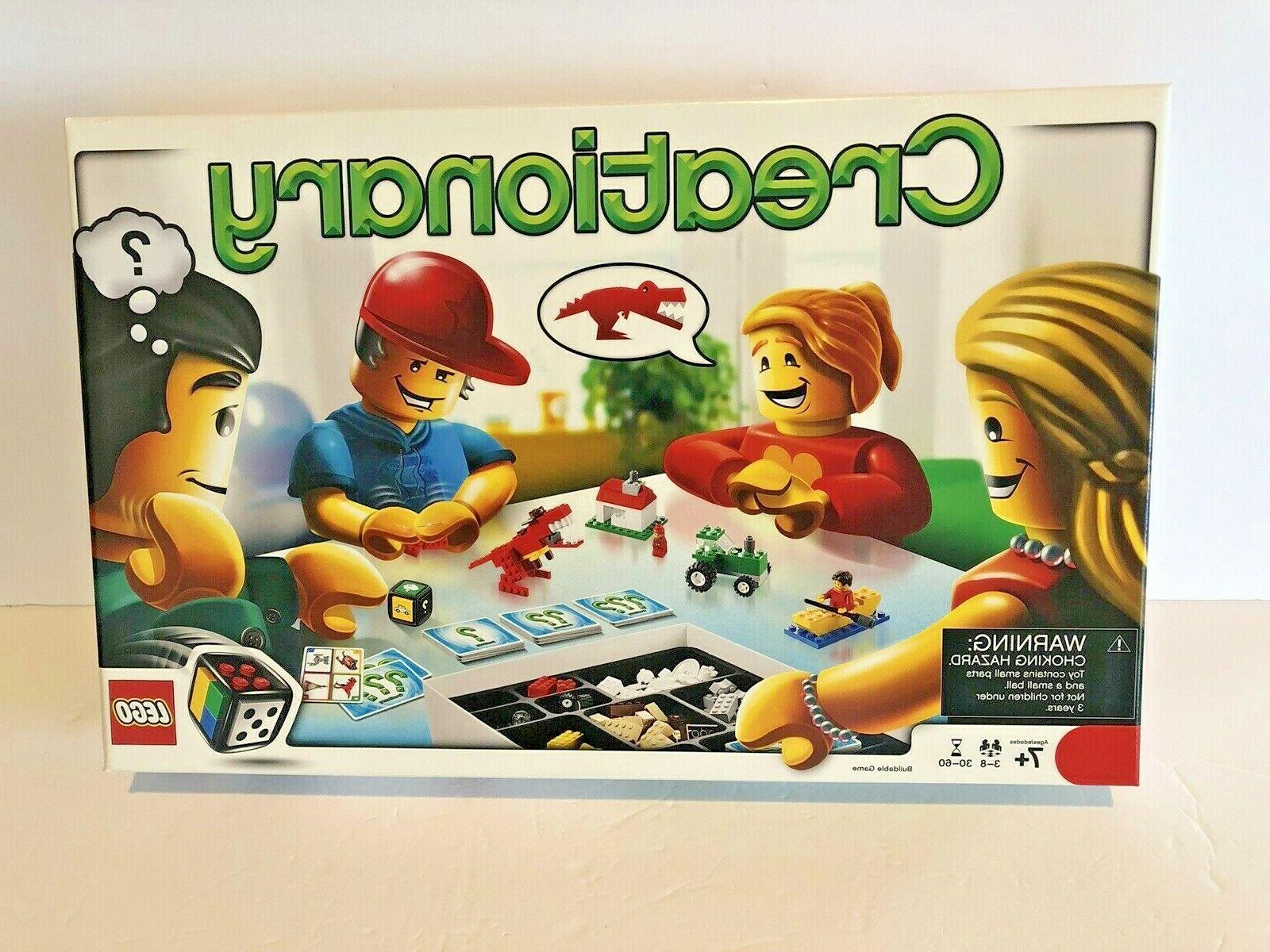 creationary board game 3844 open box new