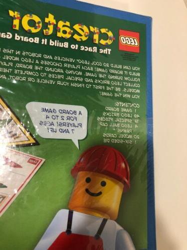 Lego Creator Race to Board game 1999