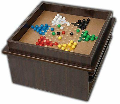 Deluxe Backgammon Drawer 15 1 Game Mahogany