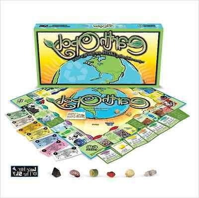 earth opoly board game age 8 to