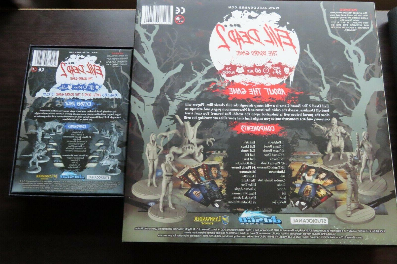 Evil Board Game Games Plus Extras Expansion
