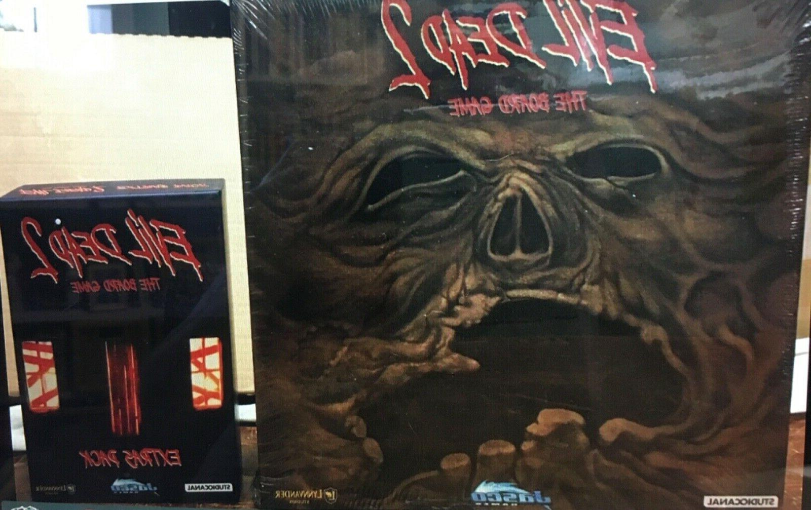 evil dead 2 board game with extras