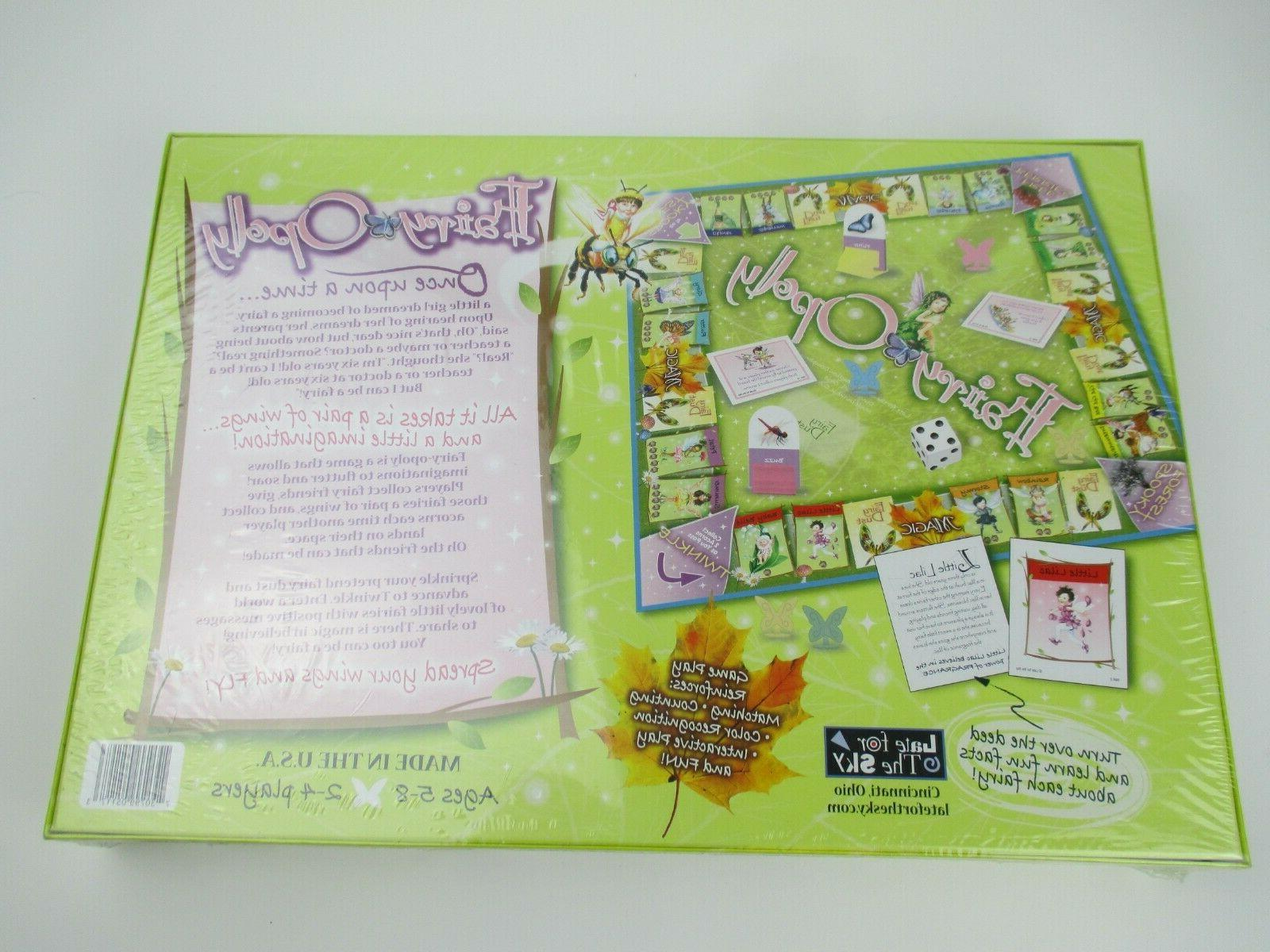 Fairy-Opoly Board Late for A Little