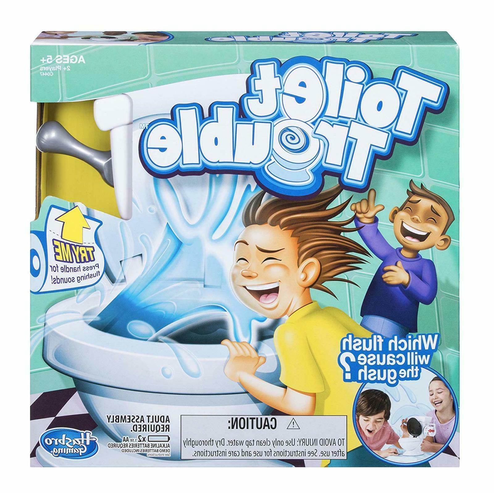 Hasbro Games Toilet Trouble Standard Packaging