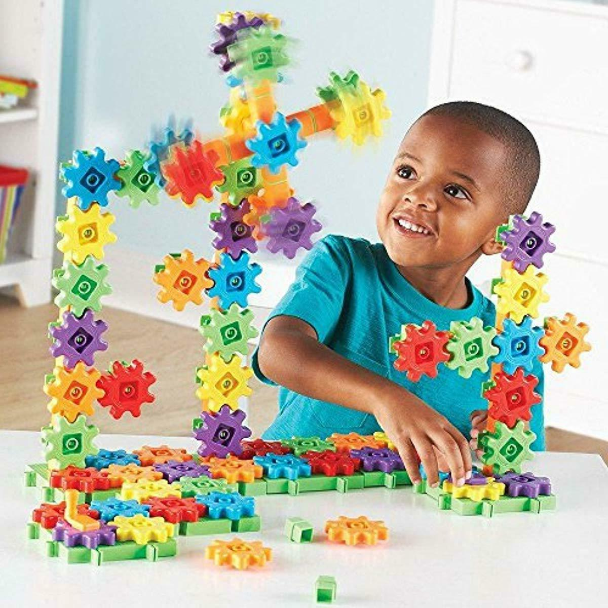 Learning Gears! Super Building Set, 150 Pieces
