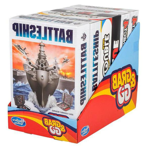 grab and go assortment portable board games