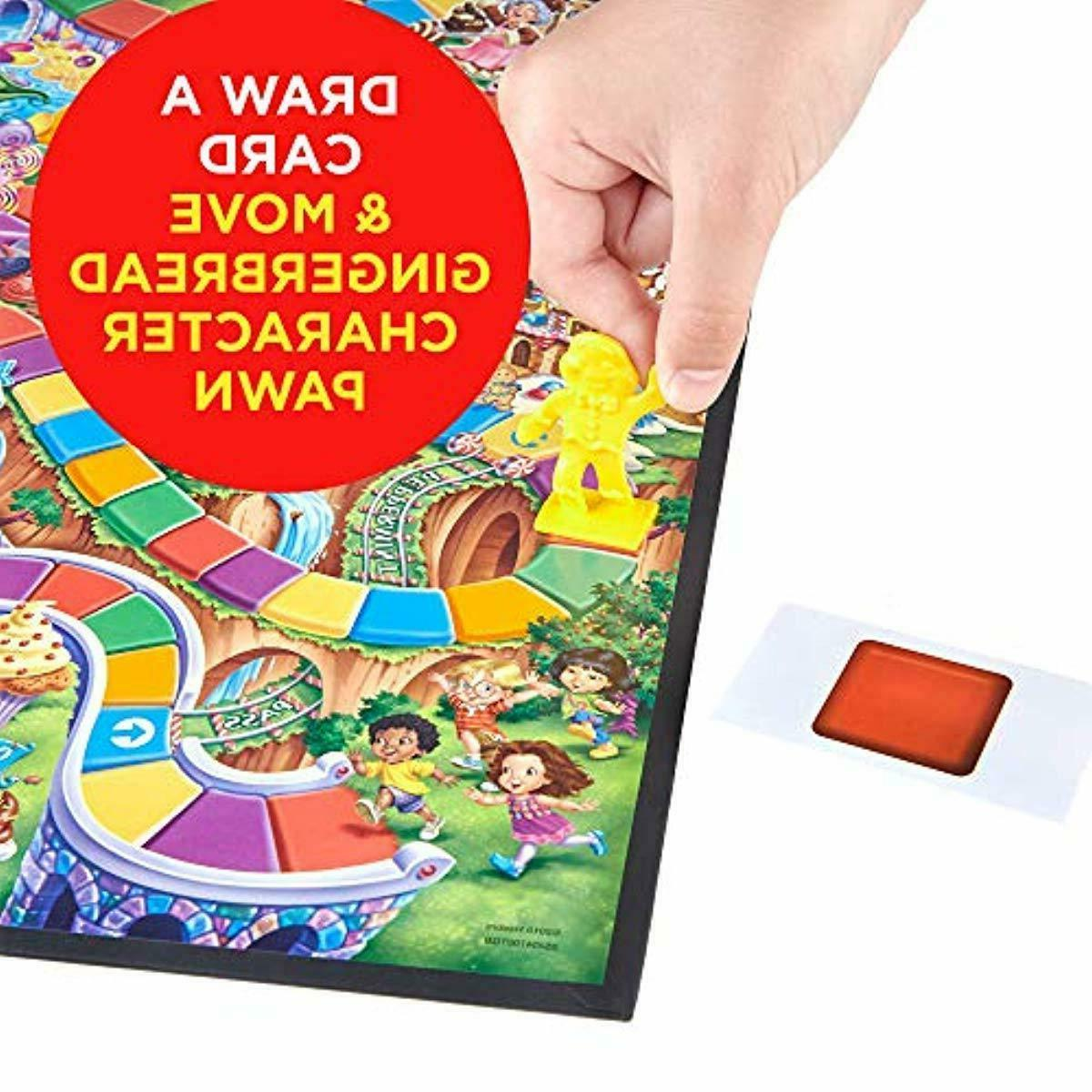 Hasbro Gaming Candy Land Kingdom Of Sweet Adventures Board Ages