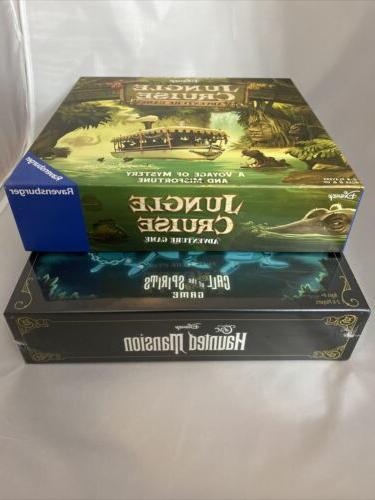 DISNEY MANSION JUNGLE CRUISE Board Games BRAND NEW NWT NIB