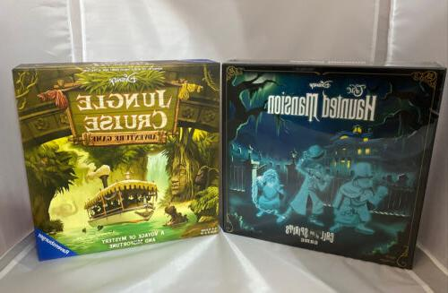 haunted mansion and jungle cruise 2 board