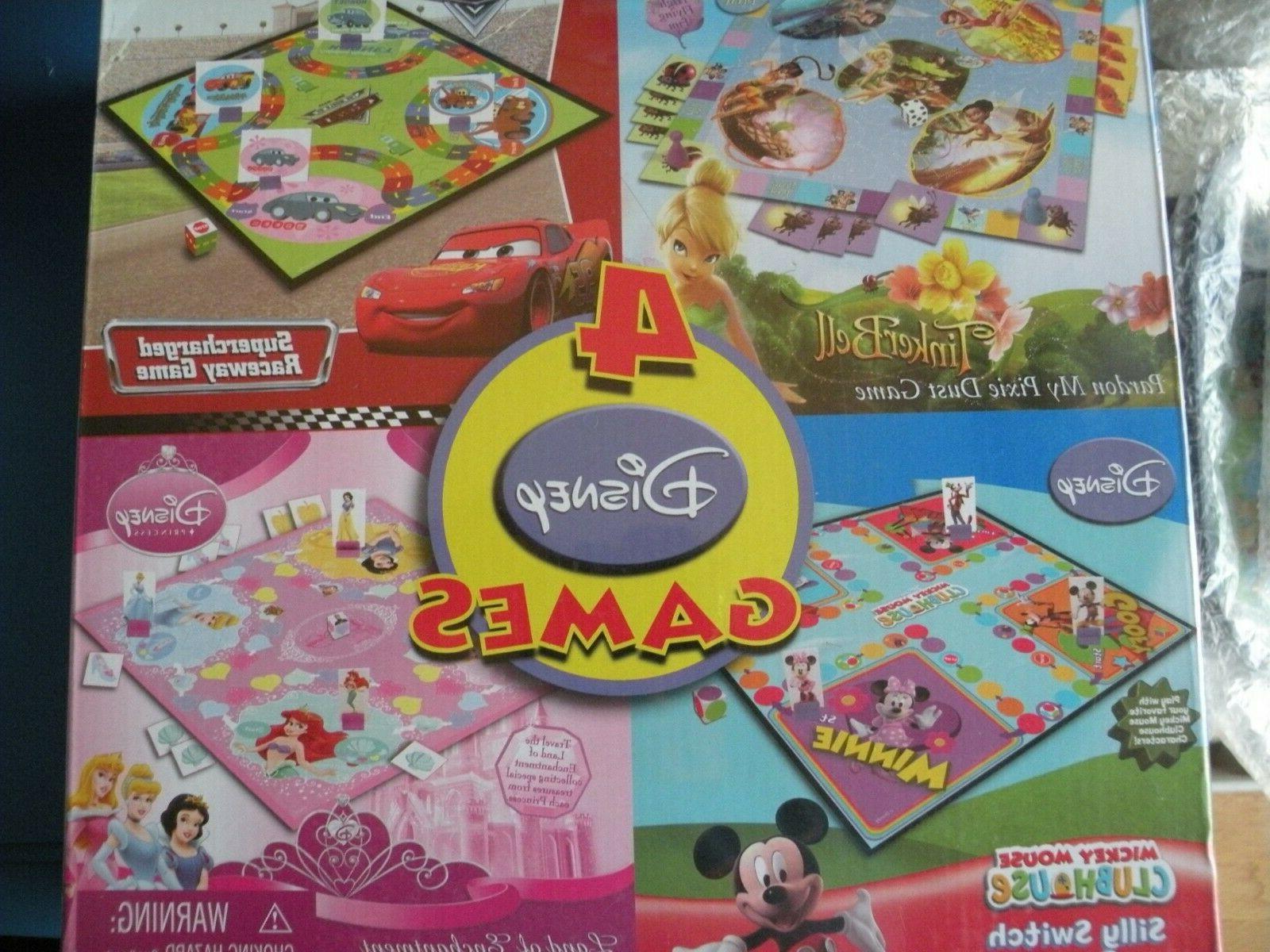 kids games board games 4 games in