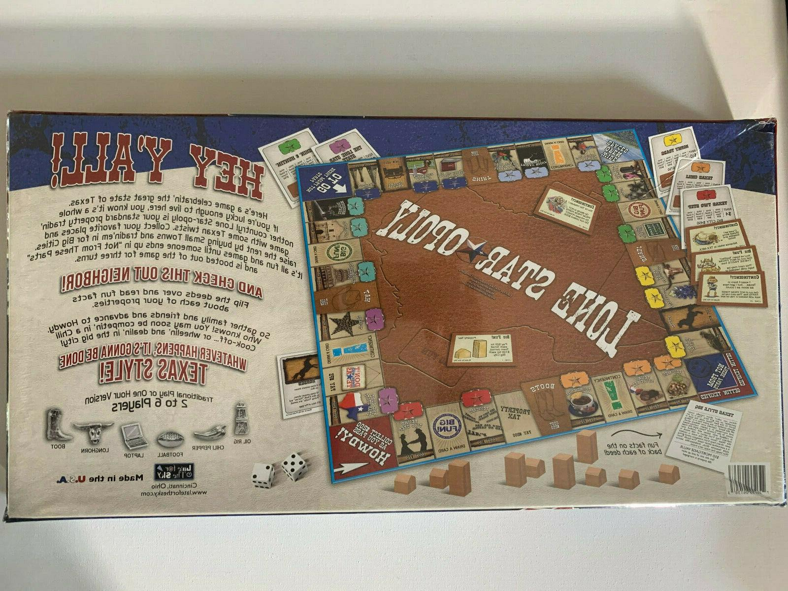 Lone Monopoly Style Board Unopened Sky