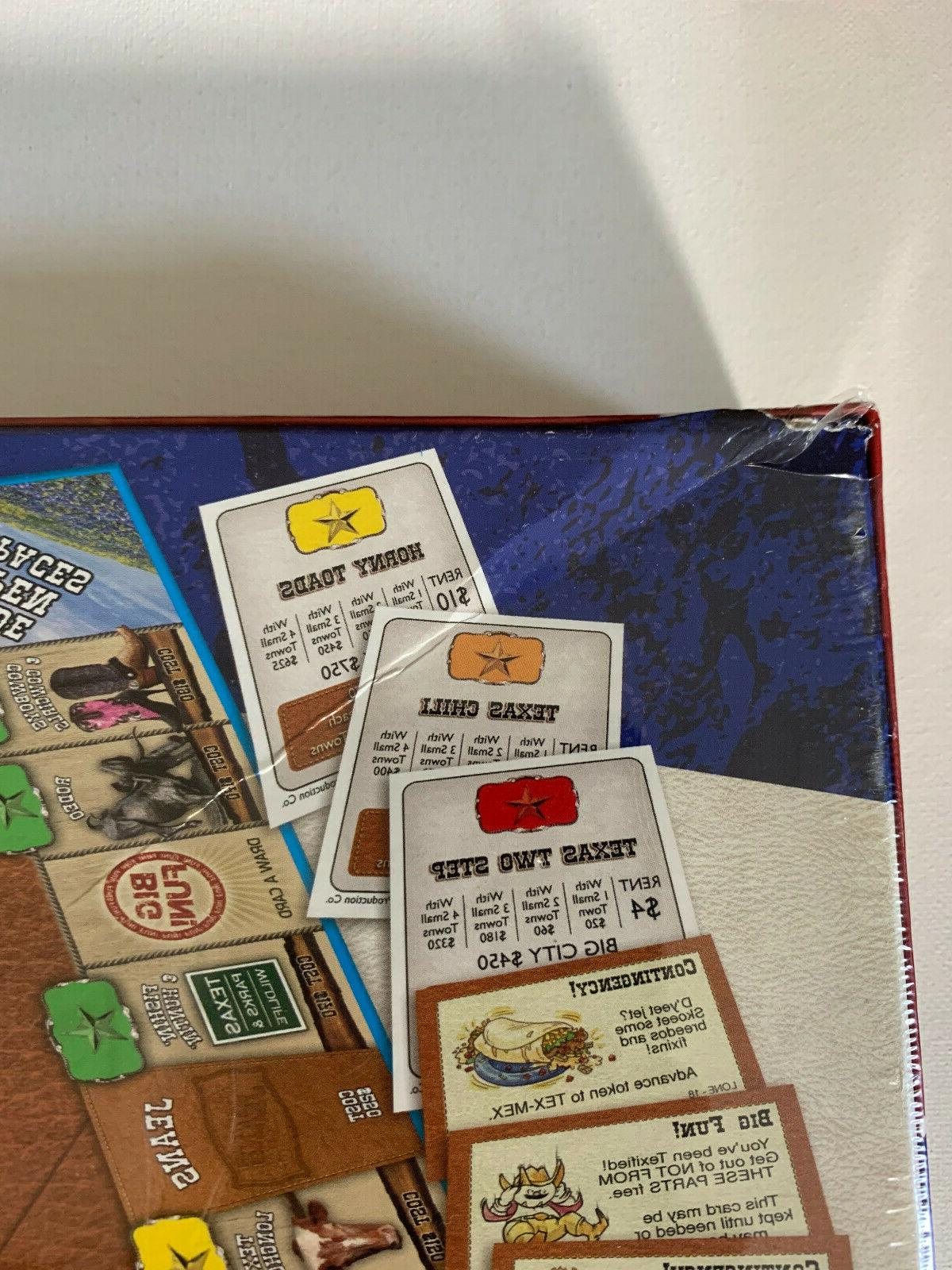 Lone Star-Opoly Style Board Sealed Unopened for the Sky