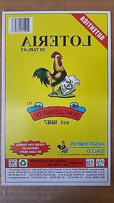 Loteria 20 DIFFERENT Boards 1 Deck Mexican Bingo Game Authen