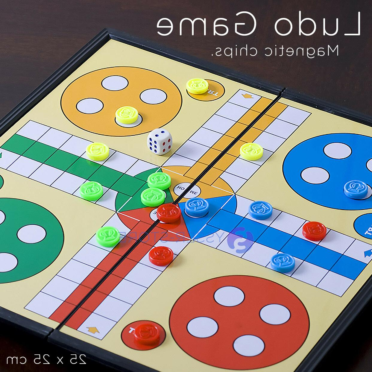 magnetic ludo traditional board brains