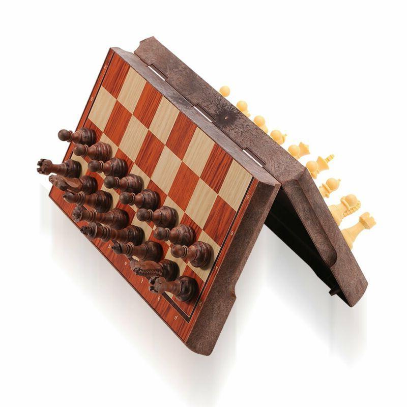 ColorGo Magnetic Travel Chess Set, Portable Mini Chess Board