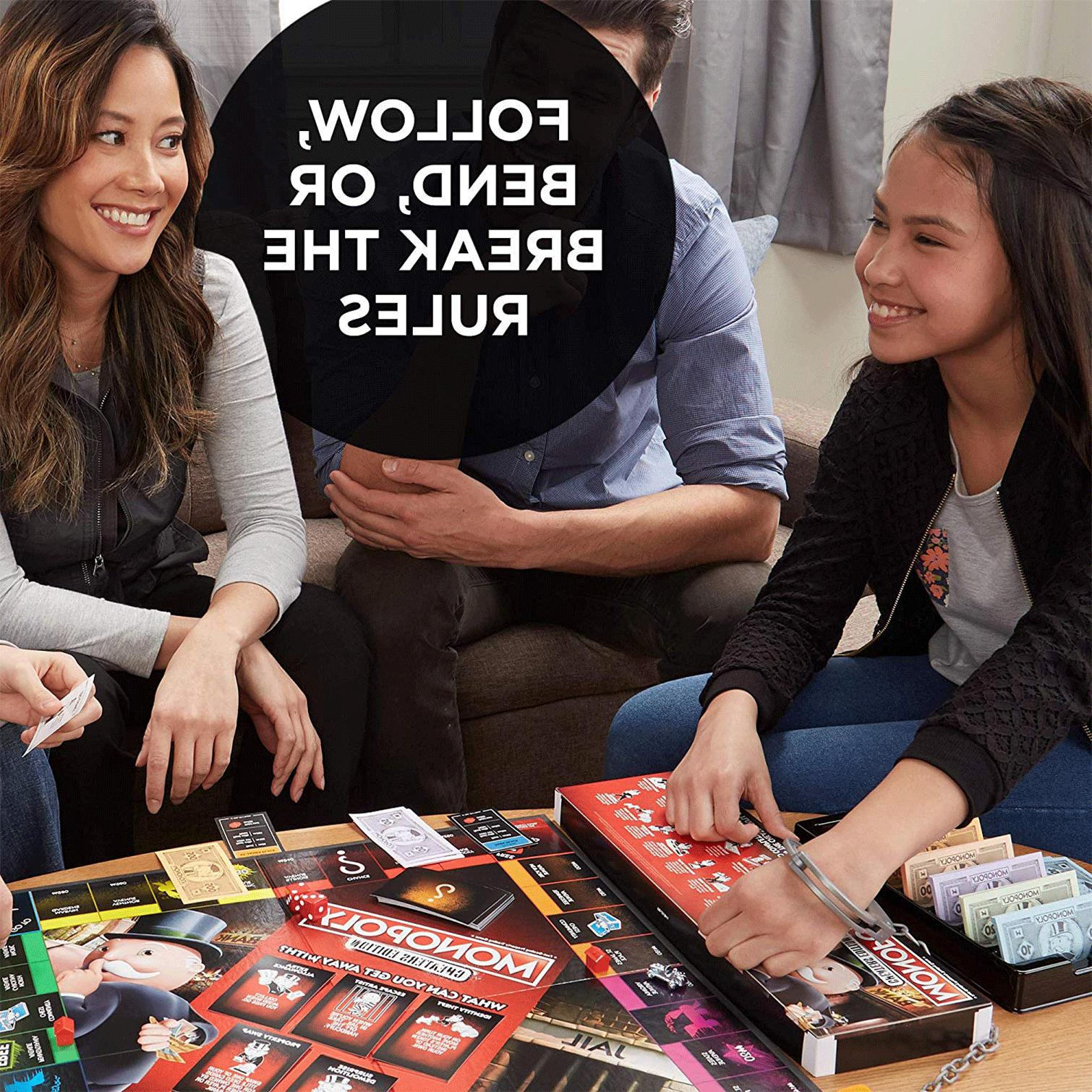 Monopoly Board Cheaters 8 Up