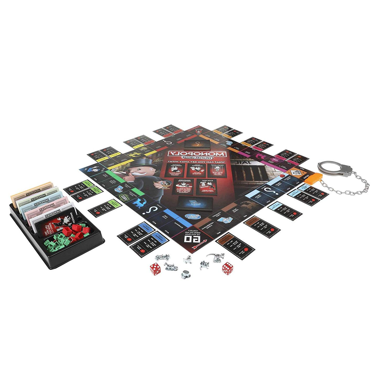 Monopoly Board Cheaters Edition Ages Up Toys & amp