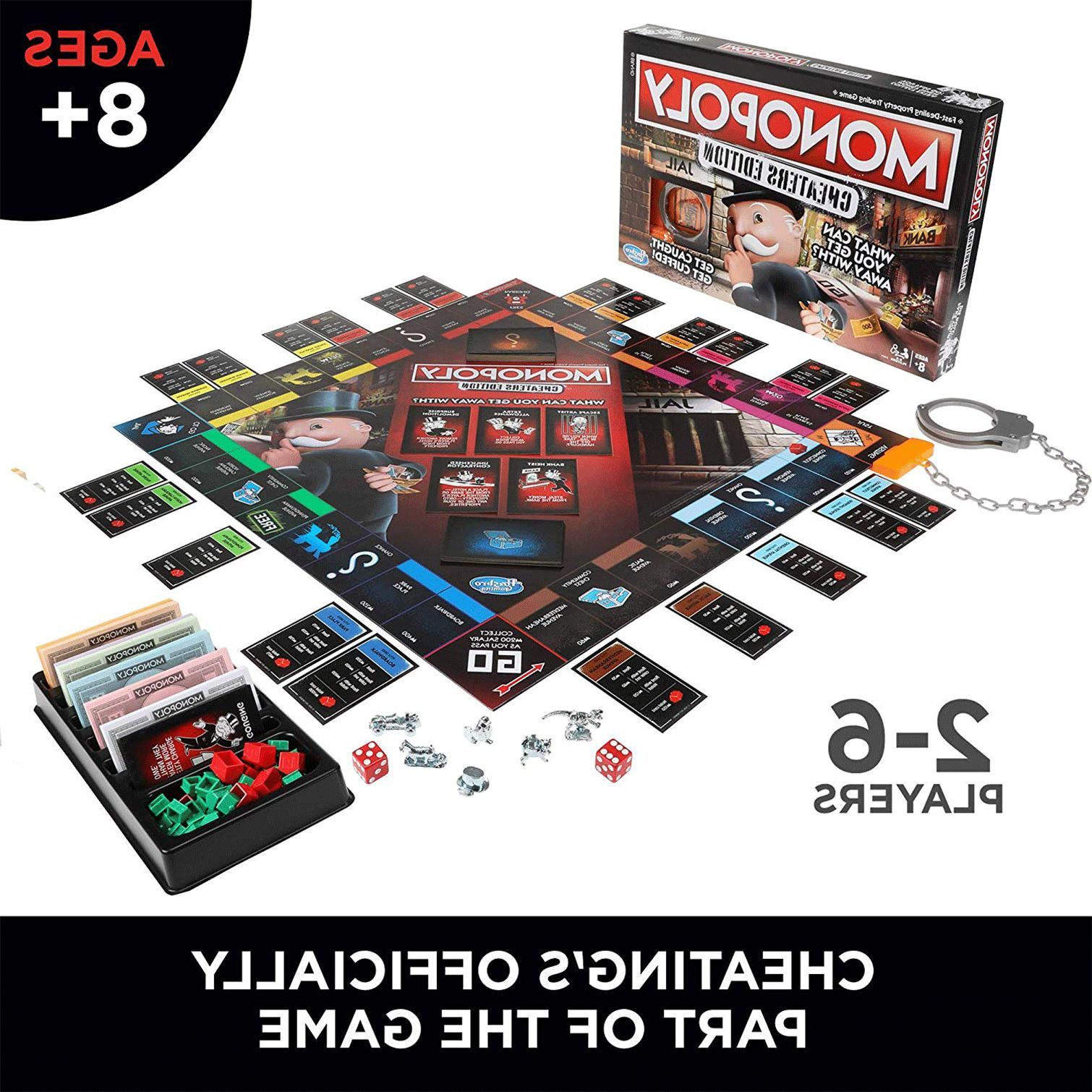Monopoly Board Cheaters Ages Up Toys &