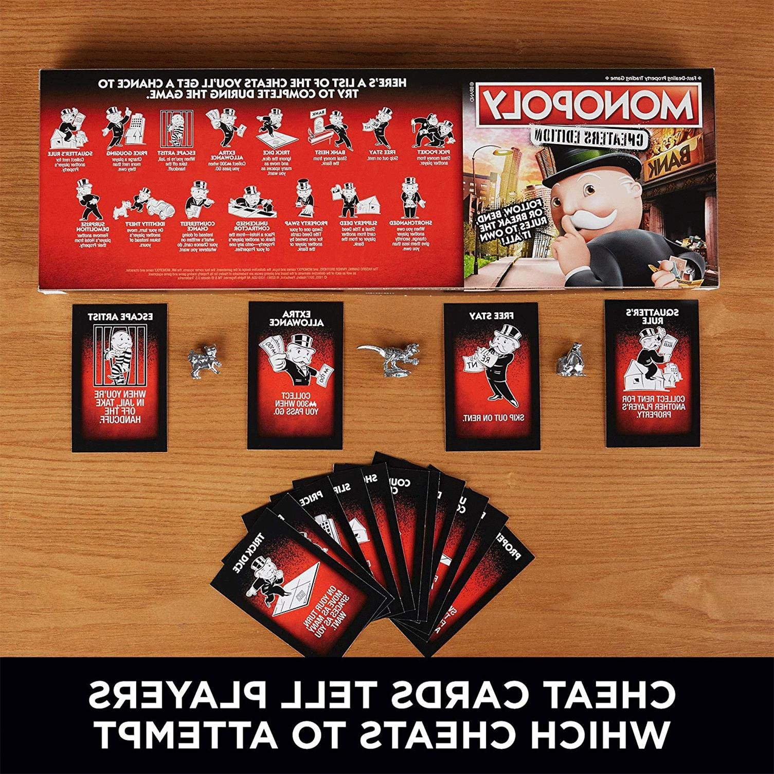 Monopoly Game Cheaters Edition Up &
