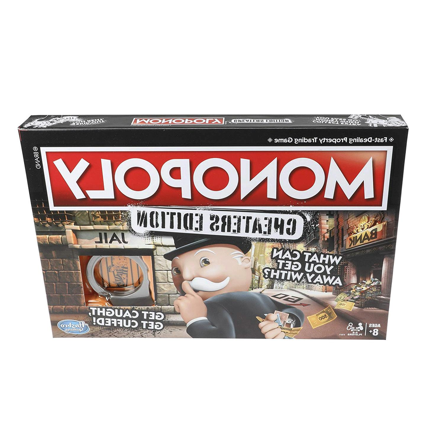 monopoly board games game cheaters edition ages
