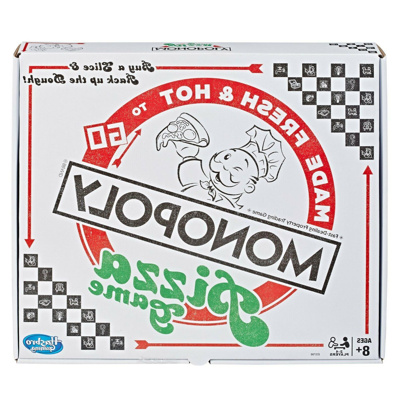 monopoly pizza board game brand new free