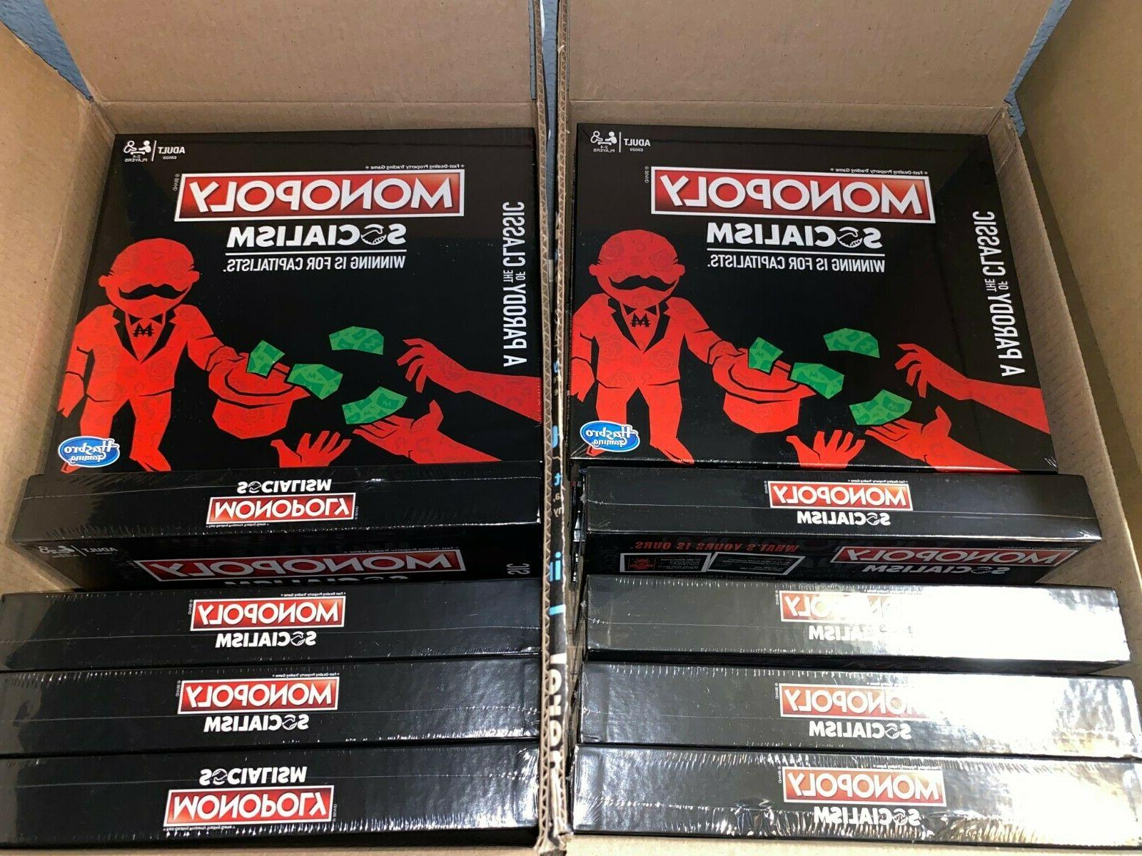 Hasbro Monopoly Socialism Board Game Game IN